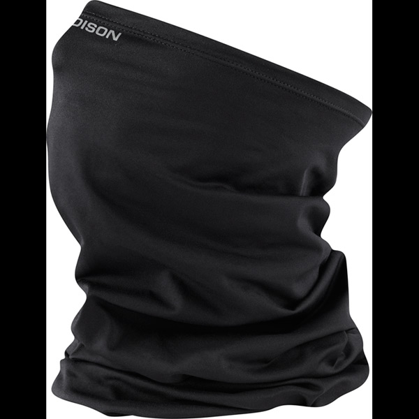 isoler-microfiber-neck-warmer,-black-one-size