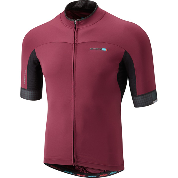 roadrace-apex-mens-short-sleeve-jersey,-classy-burgundy-xx-large