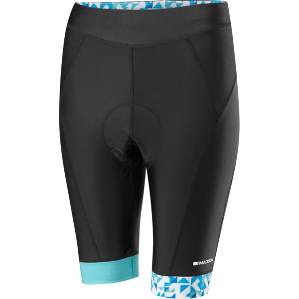 sportive-womens-shorts,-black--blue-curaco-size-10
