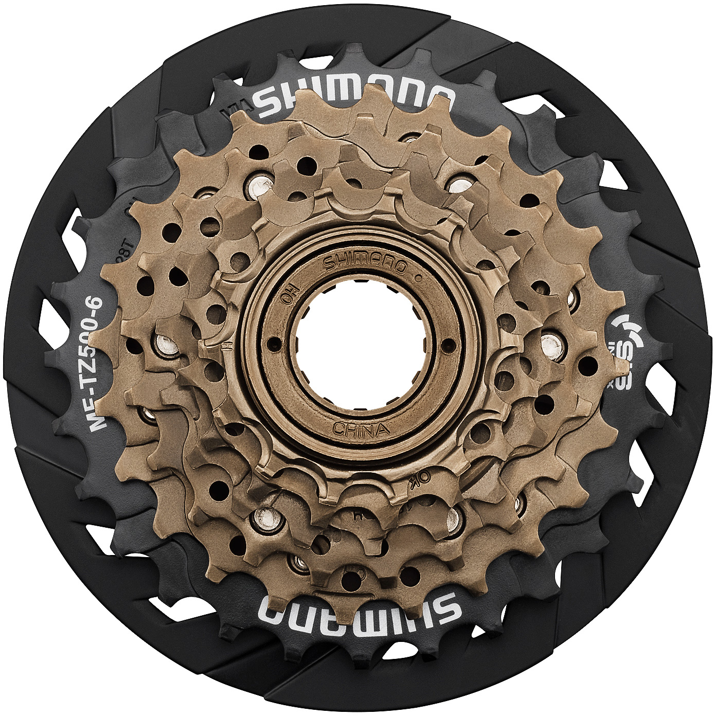 Shimano Tourney - MF-TZ500 7-speed multiple freewheel, 14-28 tooth