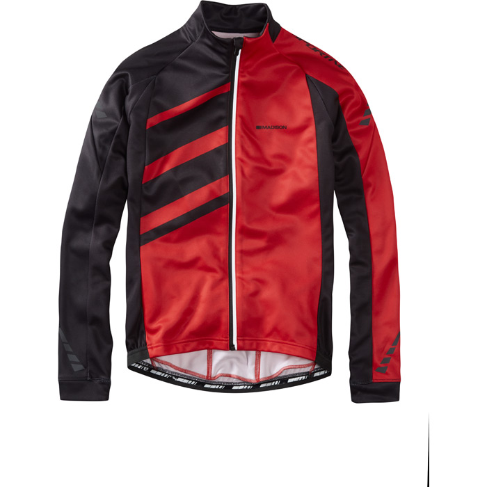 Jacket - Men's Sportive  Long Sleeve Flame Red XL