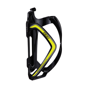 BBC-36 - FlexCage Bottle Cage (Black, Yellow Decal)