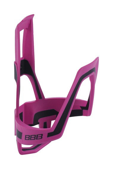 BBC-39 Dual Cage Bottle Cage Magenta and Black