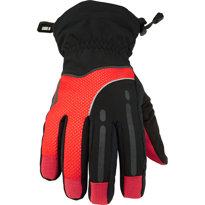 Gloves Waterproof Stellar BLK/RD md