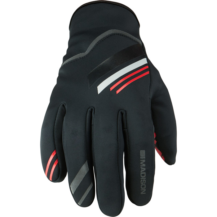 Gloves - Element Softshell LG BLK/RED